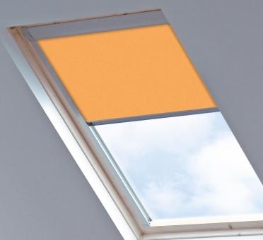 Dakraamgordijn voor Roto 649 7/11, Amber Sunset, Verduisterend - Speciale kleur
